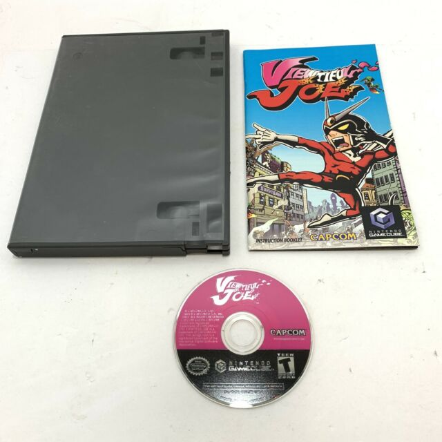 Viewtiful Joe (Nintendo GameCube, 2003) Game W/ Manual - No Cover Art!