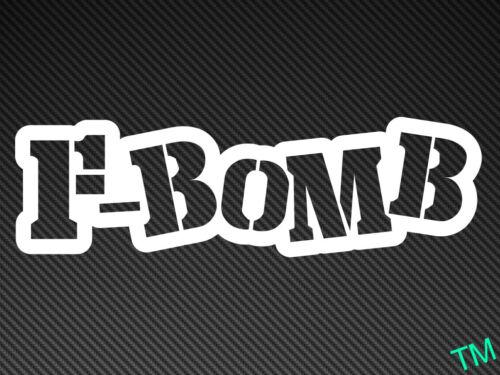 F-BOMB Style 1 Car Sticker Vinyl Decal Drift Rat Dub JDM Stance