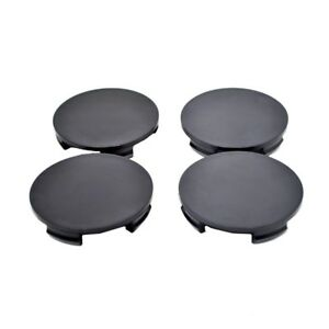 satz 4x nabenkappen nabendeckel felgendeckel radkappen 60mm 56mm schwarz vw k10b ebay. Black Bedroom Furniture Sets. Home Design Ideas
