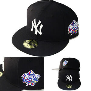 edb538b0045 New Era MLB New York Yankees 5950 Fitted Hat 1999 World series Side ...