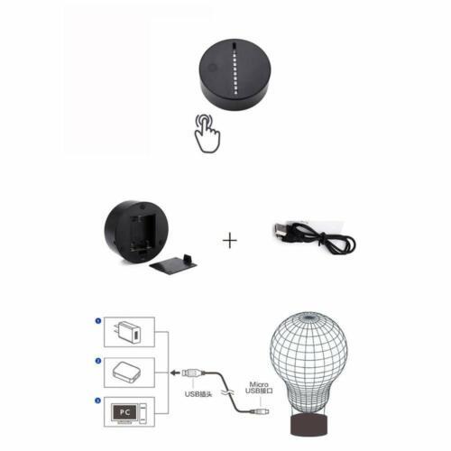 LED Table Lamp Table Lamp Night Light 7-Fold Colour Changing-Quad ATV