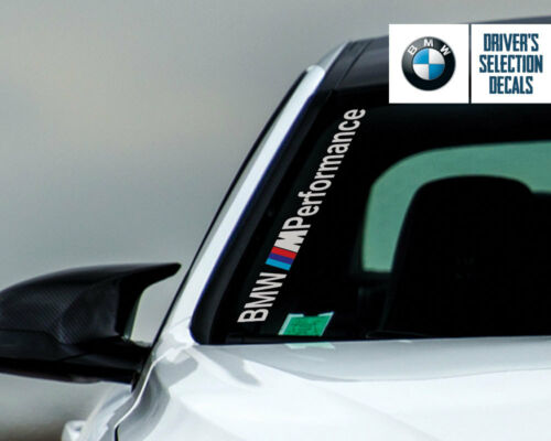 BMW M Performance Side Windshield Decal windows sticker graphic