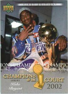 2007-08-Upper-Deck-First-Edition-Champions-of-the-Court-CCKB-Kobe-Bryant-NM-MT