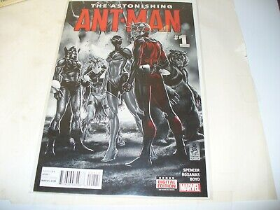 2016 1ST PRINT ZONJIC BLACK PANTHER VARIANT COVER ASTONISHING ANT-MAN #11