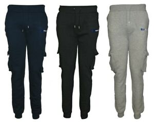 DLX-Mens-Jogging-Sports-Training-Sweat-Pants-Casual-Trousers-Tracksuit-Bottoms