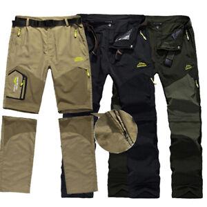Men-Summer-ProStretch-SOFTSHELL-Black-Pant-Walking-Hiking-Work-Trouser-L-5XL