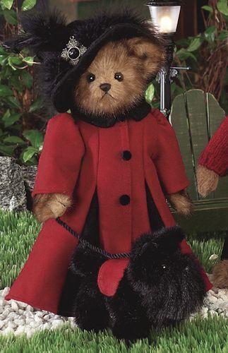 Bearington Bear lottie and scottie - with scottie Dog - 1604 retirot 2006