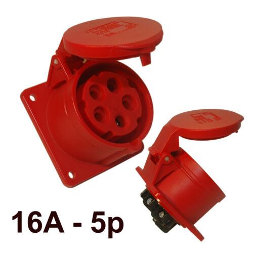 CEE prise de courant anbaudose Installation Prise de courant 16 A 380//400v ip44 Pce 315-6f7