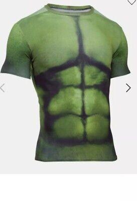 olvidar nativo Secreto  Under Armour Mens Alter Ego Hulk Compression Shirt Size Medium 888728409615  | eBay