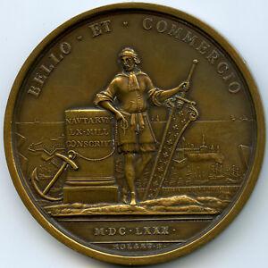 Louis-XIV-Marine-francaise-Medaille-par-Polart-1680