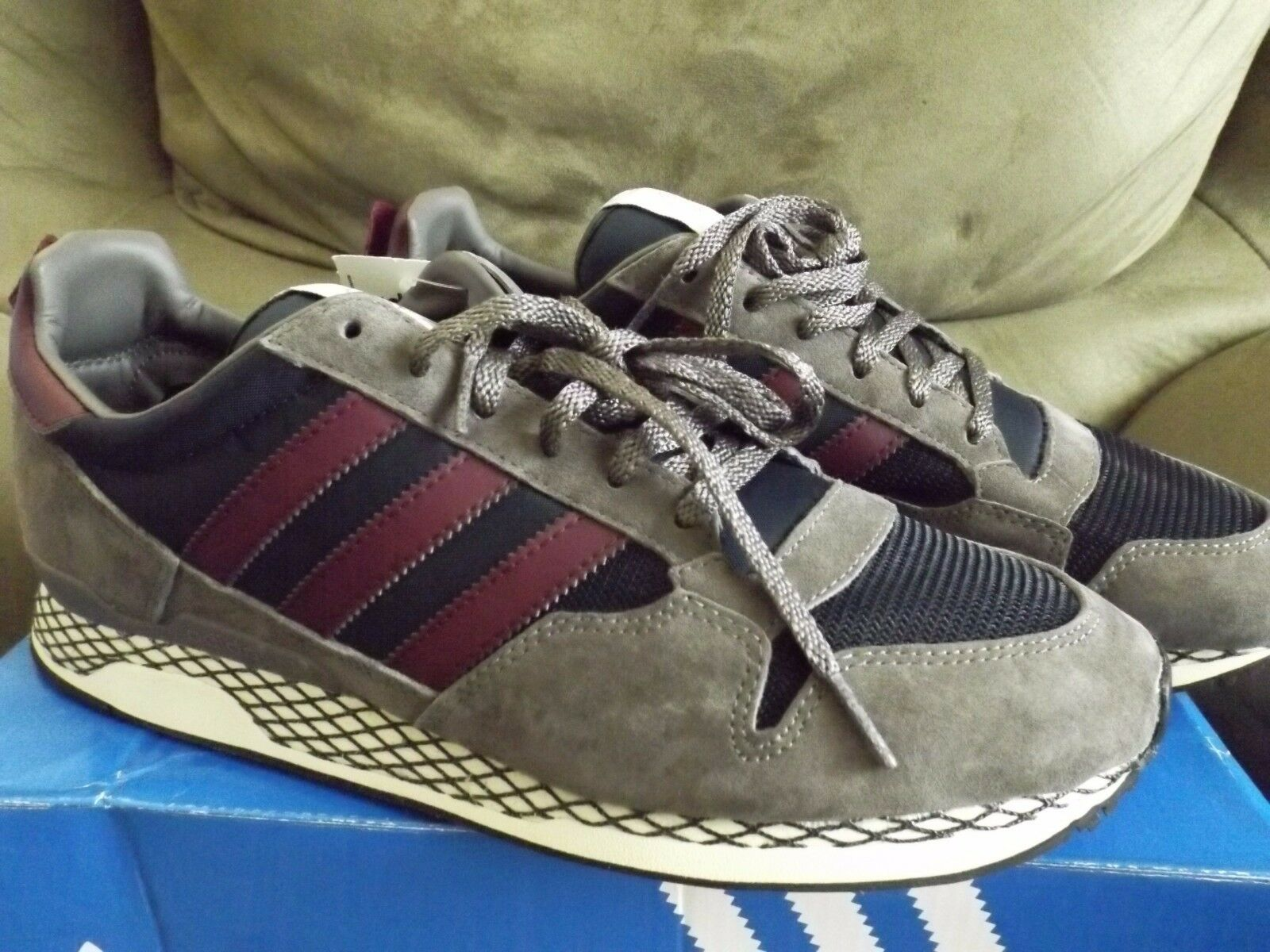 Adidas zxz avanzata 84 supcol laboratorio originali uomini scarpe supcol 84 / amared / lbone m25795 (nuovo) 921556