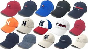 Image is loading Tommy-Hilfiger-Cotton-Baseball-Cap-Mens-Womens-Unisex- 18e08cada872