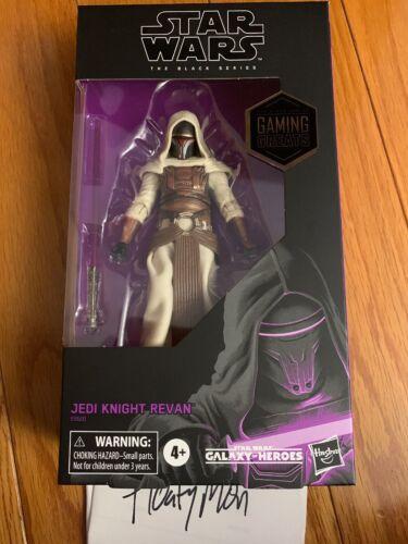 "New Star Wars The Black Series 6/"" Jedi Knight Revan GameStop Exclusive IN HAND"