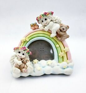 Dreamsicles-10347-034-Rainbow-frame-034-Picture-Frame-Vintage-1997-Rare