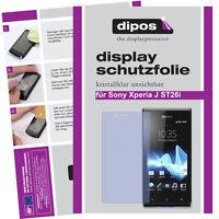 1x Sony Xperia J St26i Schutzfolie Klar Displayschutzfolie Folie Unsichtbar