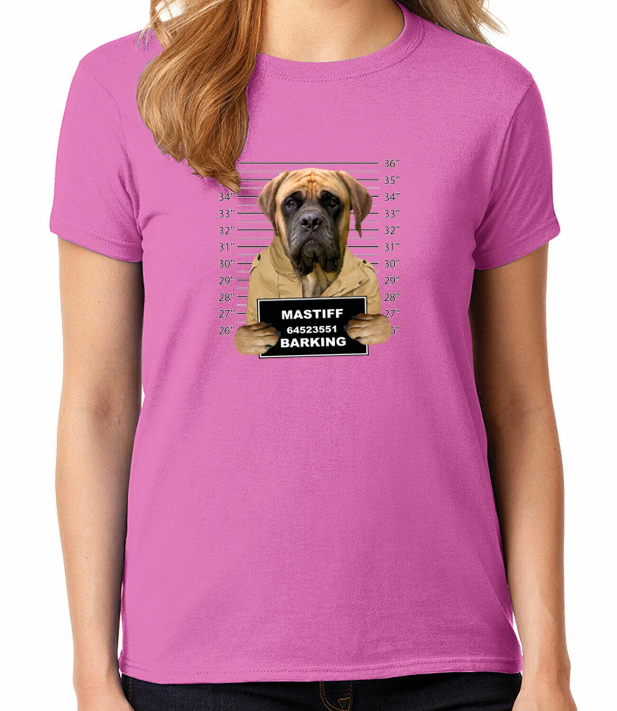1802C Mastiff Mugshot Kid/'s T-shirt Barking Puppy Molosser dog Tee for Youth