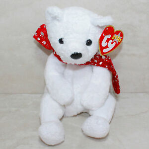 Image is loading Ty-Beanie-Baby-2000-Holiday-Teddy-MWMT 5534693f728c