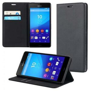 Sony Xperia Z3 Plus Handy-Tasche Flip Cover Book Case Schutz-Hülle Etui Wallet