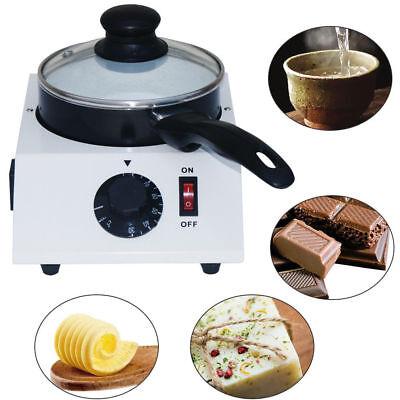 Chocolate Melting Machine Ceramic Non-stick Pot Tempering Cylinder Melter Pan