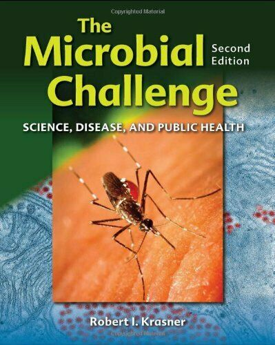 Microbial Challenge : Science, Disease, and Public Health-ExLibrary