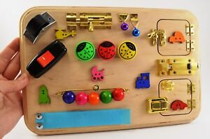 Toys For Travel Activity Board Latches Board Sensory Board Busy