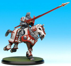 RARE-OOP-Rackham-Confrontation-Griffin-Redemption-Cavalry-3-mounted-miniatures