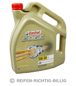 Castrol-Edge-Titanium-FST-LL-5W-30-5-Liter-5L-15669E-Motoroel-Motorenoel