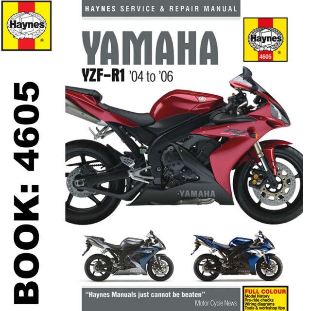 yamaha r1 haynes manual 04 to 06 ebay rh ebay co uk Yamaha YF1 Yamaha YFZ