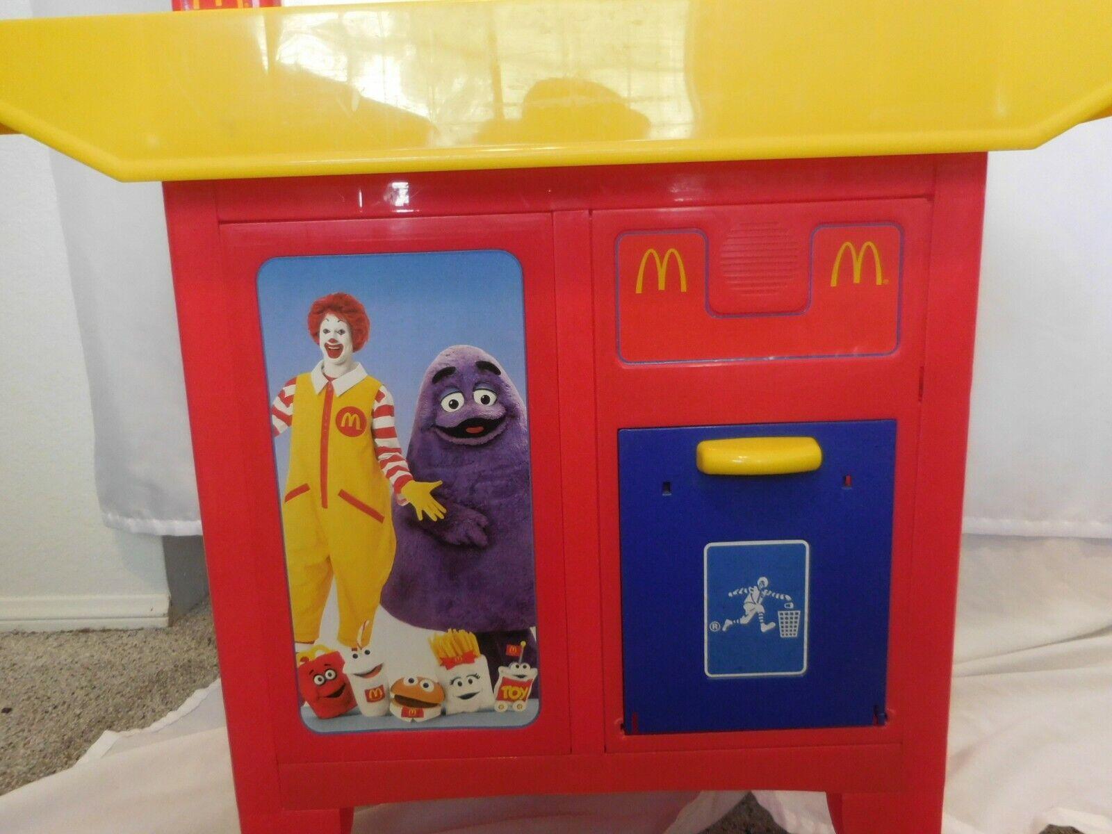 Mcdonalds Drive Thru Playset Kitchen Kitchen Kitchen Cash