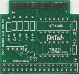 KMTech-Gotek-External-Drive-Adapter-v1-41-for-the-Amiga-PCB-ONLY-DIY