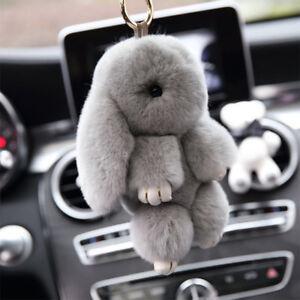 Image is loading Copenhagen-Cute-Bunny-Rabbit-Fluffy-Furs-Plush-Handbag- 4da7348b1
