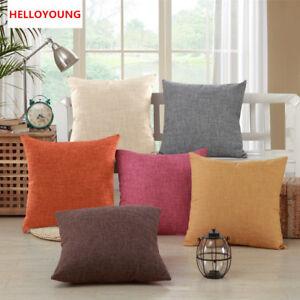 Housse-de-Coussin-Luxe-Taie-d-039-oreiller-Maison-Textiles-Simplicite-Oreiller-Decor