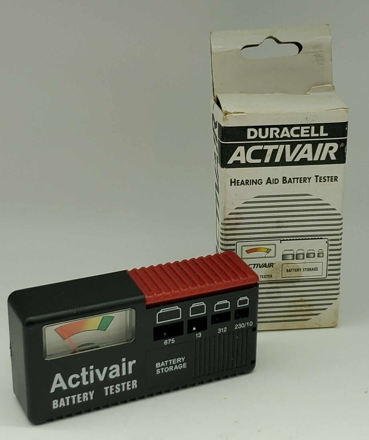 Activair Hearing Aid Battery Tester & Storage Duracell Inc.