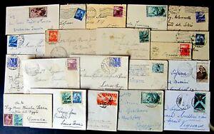 Repubblica-Storia-Postale-Lotto-da-21-Biglietti-da-visita