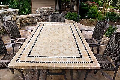 7 Piece Dining Patio Deck Set Outdoor Furniture Backyard