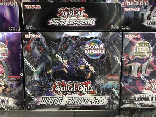 Yu-Gi-Oh Wing Raiders 1st Edition Booster Box Konami Factory Sealed Shohen