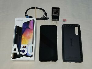 Samsung Galaxy A50 - 64GB - Black (Unlocked) *WITH CASE AND 64GB MICRO SD*