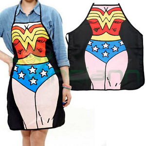 Grembiule-cucina-Wonder-Woman-supereroe-cottura-accessorio-divertente-regalo
