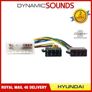 ct20hy03 car stereo iso loom wiring harness adaptor lead for hyundai image is loading ct20hy03 car stereo iso loom wiring harness adaptor