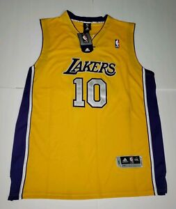Details about NEW WITH TAGS NBA LOS ANGELES LAKERS #10 STEVE NASH JERSEY BY ADIDAS SIZE 2XL