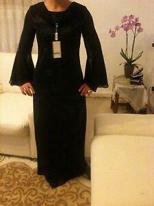 Damen Elegant Abendkleid Schwarze Lang Cocktailkleid | eBay