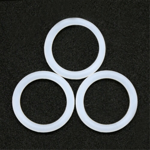 Food grade White Heat Resistance Silicon Rubber  Ring Seals 4mm