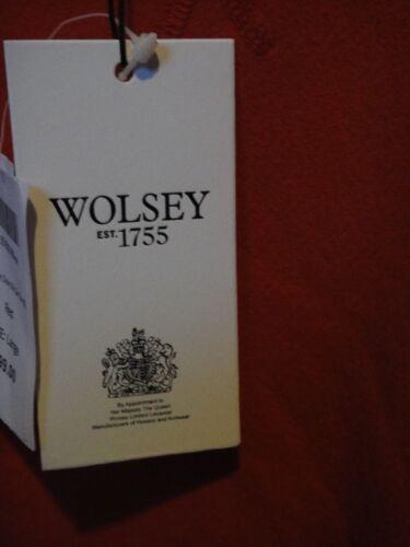 Red Sweatshirt Nwt Large cotone 100 Wolsey qprTwxqaB