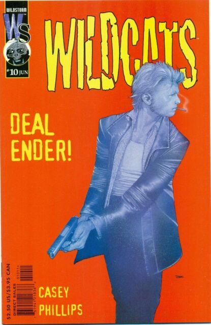 Wildcats #10 Wildstorm Productions Comics June Jun 2000 (VFNM)