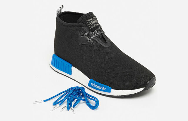 Adidas Mens Nmd C1 Porter Japan Boost Very Limited Black Black