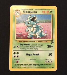 Pokemon Cards Nidoqueen Base 2 Holo Rare Evolution | eBay