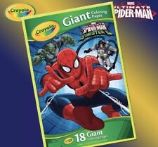 Crayola Marvel Spiderman Giant Coloring Pages Ebay