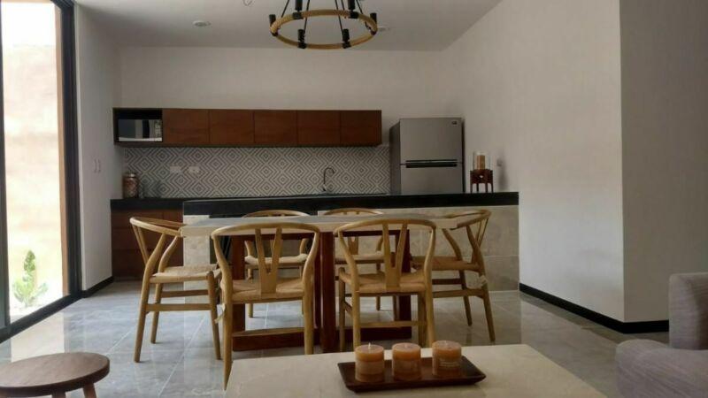 Departamentos de 2 habitaciones en Temozón Norte, cerca de Cabo Norte