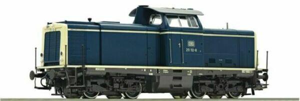 Roco 51299 diesel locomotora br 211 de la DB nuevo