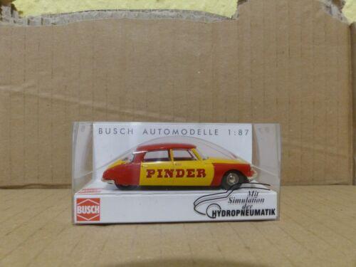 Busch 48008 CITROEN DS 19 Pinder h0 1:87 NUOVO IN SCATOLA ORIGINALE